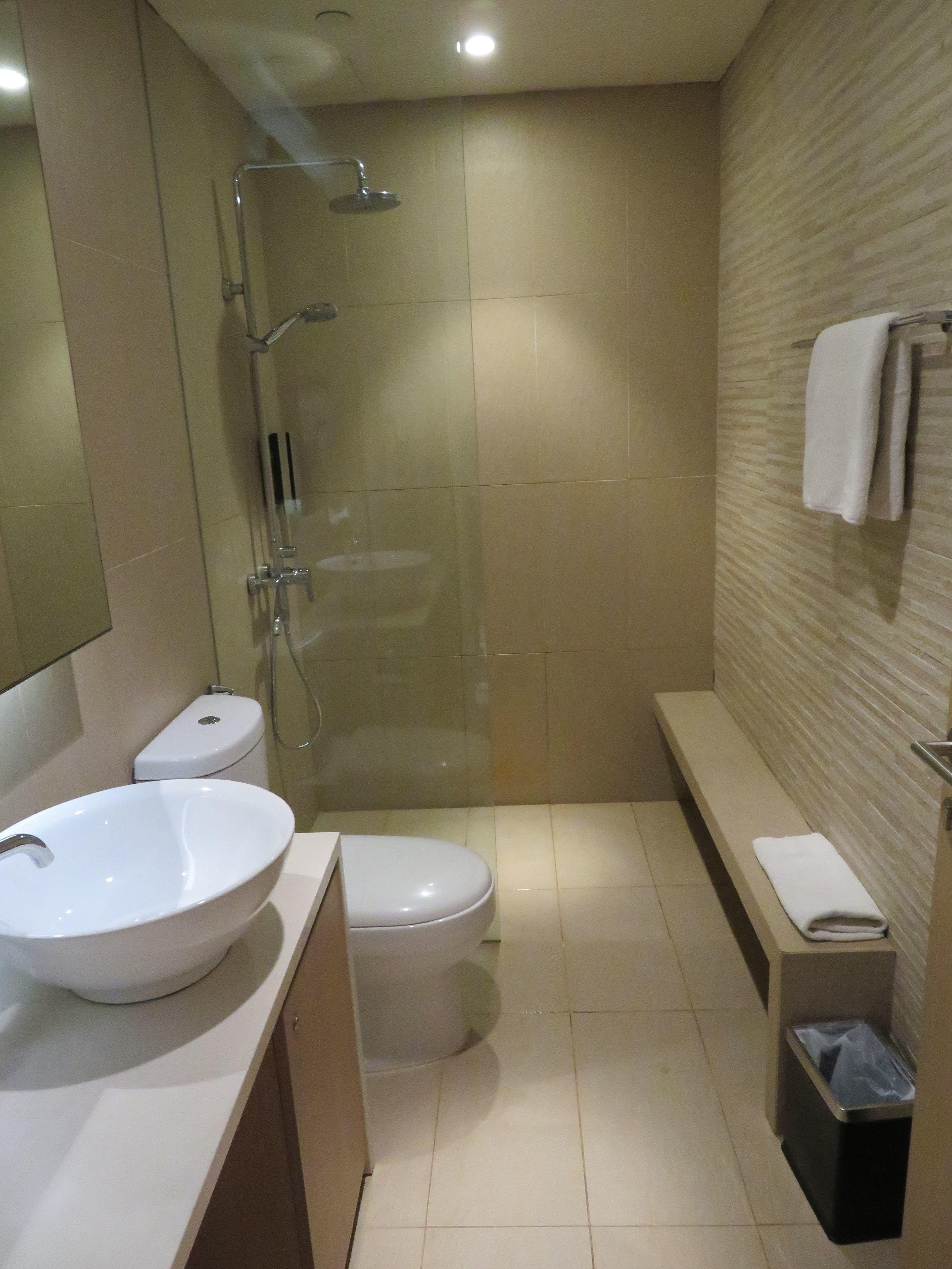 ザ・ヘイブンのシャワー室
