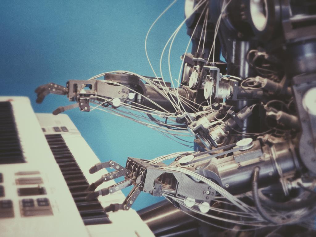 「ロボット」「人工知能」