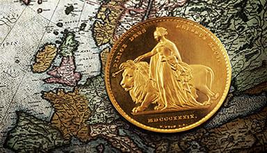 アンティークコインの優位性